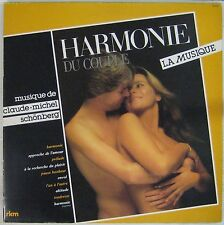 Harmonie du couple 33 tours Claude Michel Schönberg 1982
