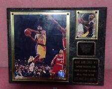 National Sports Grill Nick Van Exel #9 Los Angeles Lakers Frame.