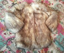 Girls Brand New Fur Mothercare Button Up Coat Age 8 Years Thick Great Quality