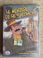 Le miniere di Re Salomone - Cartone DVD NUOVO SIGILLATO