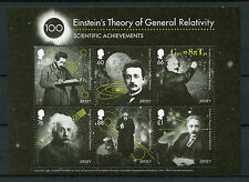Jersey 2016 MNH Einstein Theory of General Relativity 6v M/S Science Stamps
