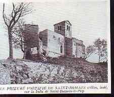 1925  --  LE PRIEURE FORTIFIE DE SAINT ROMAIN  H710