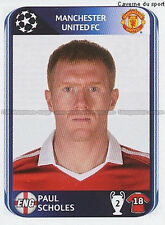 N°150 PAUL SCHOLES # MANCHESTER UNITED UEFA CHAMPIONS LEAGUE 2011 STICKER PANINI