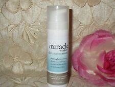 PHILOSOPHY-MIRACLE WORKER-DARK SPOT CORRECTOR-0.45 FL. OZ.-NEW!! W/CLEAR CAP!!