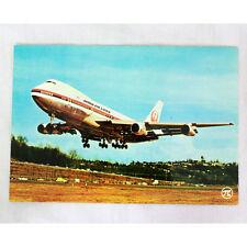 JAL Japón Airlines - Boeing 747-100 - Avión Tarjeta postal - Bueno Calidad