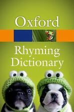 New Oxford Rhyming Dictionary (Oxford Paperback Reference),