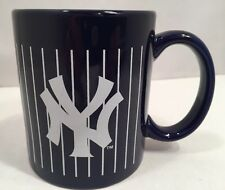 NY Yankees Blue with Pinstripes Coffee Mug Cup