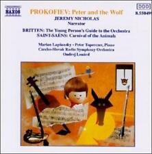 Saint-Saëns: Carnival of the Animals; Prokofiev: Peter and the Wolf; Britten: Yo