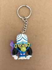 "Vintage 1999 Powerpuff Girls Mojo Jojo Cartoon Network 1.75"" Keychain *SEE PICS*"