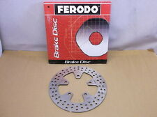 Ferodo Rear Rotor for 1989-2002 Kawasaki ZX7R, 1989-1995 ZXRR and 1994-1997 ZX9R