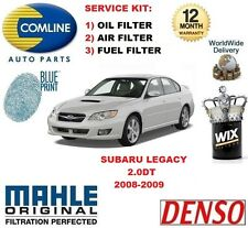 FOR SUBARU LEGACY 2.0DT 2008-2009 SERVICE KIT OIL AIR FUEL FILTER SERVICE KIT