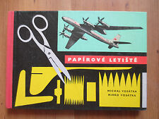 Paper airport -many model instruction and plans for airplane models(kits) - 1964