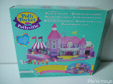 Polly Pocket / Pollyville Light-Up Magical Mansion 11985 [Full/Boxed]