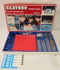 Scatron Técnico Radio 32 circuitos / 40 componentes / spanish radio game