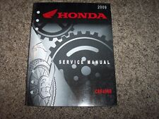 2009 Honda CRF450R CRF 450 R Motorcycle Dirt Bike Service Repair Shop Manual