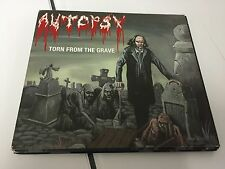 Autopsy Torn from the Grave 2001 DIE CUT DIGIPAK CD 801056108425 NR MINT