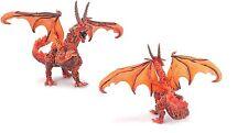 Dragón de lava 16 cm Serie Cometa Plastoy 60225