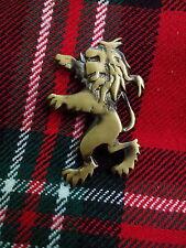 """TC Neuf Lion Rampant Écossais Broche Kilt Finition Antique 2""""/Kilt Highland Pins"""