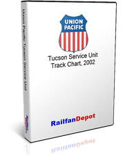 Union Pacific Tucson Service Unit track chart 2002 - PDF on CD - RailfanDepot