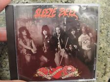 SLEEZE BEEZ cd 1990 original oop rare SCREWED BLUED TATTOOED metal rock heavy 1