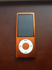 Apple 8GB iPod Nano 5th Generation Orange Camera A1320 Excellent Condition