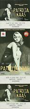 RARE / TICKET DE CONCERT - PATRICIA KAAS LIVE A ANGERS 11 JUIN 1998 / COMME NEUF