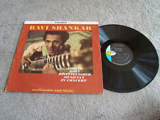 Ravi Shankar India's Most Distinguished Musician In Concert NM LP World Pacific