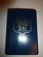 Complete Messianic Jewish Holy Bible Black Bonded Leather David H Stern New!262