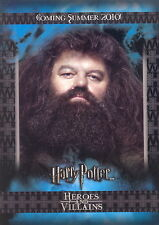 HARRY POTTER HEROES AND VILLAINS 2010 ARTBOX PROMO CARD P2