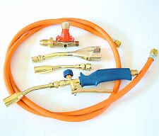 METALWORKING TORCH KIT, includes, gas torch, propane regulator and 2m gas hose