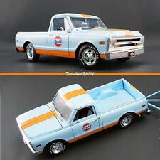 ACME 1968 GULF RACING C 10 PICKUP / TRUCK DIECAST MODEL 1:18 NEW!!