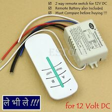 E24 DC 12V 24 Volt 2 Way Channel RF Remote Control Switch Transmitter Receiver