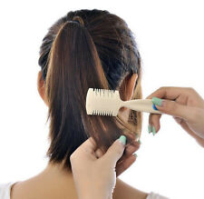 Razor Hair Cutting Thinning Comb Double Razor Blade Haircuts Hairdressing Tools