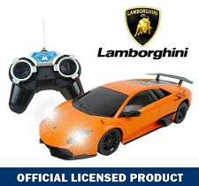 Licensed 1:24 ORANGE Lamborghini Murcielago LP670 RC Radio Remote Car Kids Toy