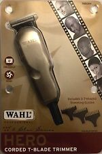 WAHL 5 STAR HERO MINIATURE T-BLADE ROTARY MOTOR TRIMMER 785084, UPC 043917899107