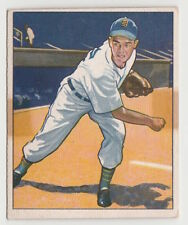 1950 BOWMAN ART HOUTTEMAN DETROIT TIGERS CARD #42 VERY GOOD CONDITION