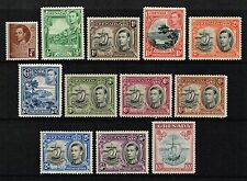 Grenada 1938-50 King George VI set to 10s., MNH (SG#152/163a)