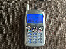 Panasonic GD55 - Silver Unlocked GSM CellPhone *VINTAGE* *COLLECTIBLE*