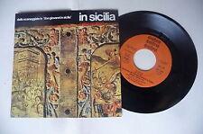 """ORCH. UNIONE MUSICISTI DI ROMA """"IN SICILIA - 45gg CETRA it 1976"""" SIGLA TV"""