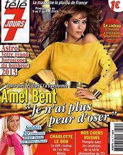 AMEL BENT transformée - CHARLOTTE LE BON- TELE7JOURS 01/13
