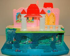 """16"""" Under The Sea & Palace Fold-Out Ariel Action Figure Playset Little Mermaid"""