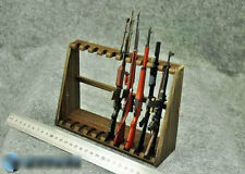 "1/6 scale Wooden Weapon Guns Rifle Rack Display fit 12"" figure Size A Higher"