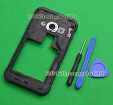 For Samsung Galaxy Xcover 3 G388F Housing Middle Frame+Rear Camera Lens Cover