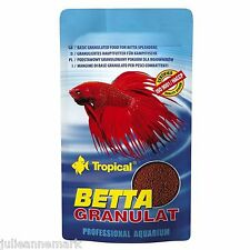 BETTA GRANUAL FISH FOOD (Genuine professional food for Betta Splendens)