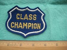 Vintage NHRA Class Champion  Isky Racing Cams Dealer Patch