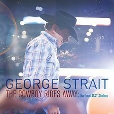 Cowboy Rides Away: Live From At&T Stadium - George Strait (2014, CD NIEUW)
