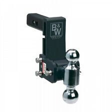 """B&W TS10037B Tow and Stow Receiver Hitch - 5"""" Drop 5 1/2"""" Rise - Dual Ball"""