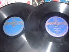78RPM 2 Columbia by Peerless Qrt,Bite Hand Feeds,B There,Old Place Gang,Faugh V-