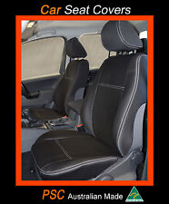 MITSUBISHI TRITON FRONT PAIR PREMIUM NEOPRENE WATERPROOF SEAT + HEADREST COVERS