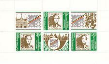 (33384) Bulgarie Tampon Foire Mini feuille 1990 - MNH U/M Excellent état